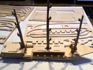 3Д паззл для сборки кораблика