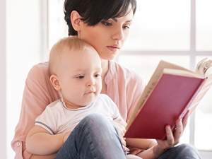 Чтение малышу