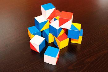 Кубики Кооса для развития ребенка