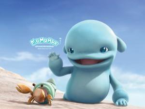 Тайваньский мультфильм «Дельфиненок Муму»