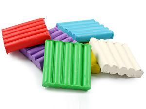 Разноцветный пластилин для аппликации