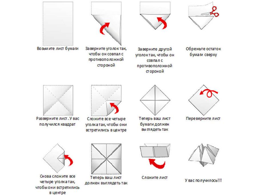 Как сделать что нибудь из бумаги своими