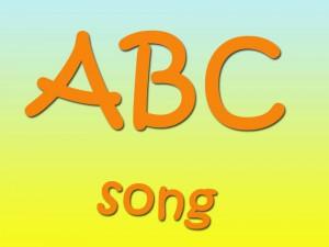Изучение английского алфавита песенкой abc-song