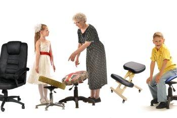 Выбор ортопедического кресла