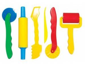 Инструменты для работы с пластилином