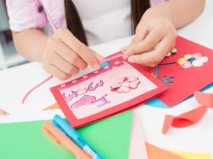 Изготовление поздравительной открытки своими руками
