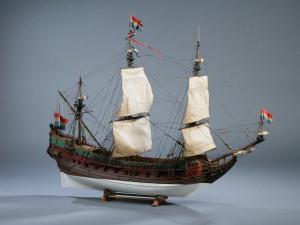 Модель - копия настоящего корабля