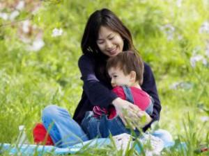 Японский ребенок трех лет