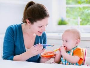 Обучение кушать ложкой на своем примере