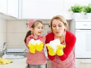 Помощь маме при японском воспитании