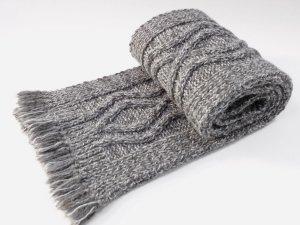 Самодельный шарф в подарок папе