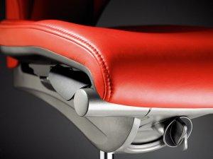 Регулировка глубины сиденья кресла