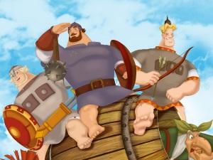 Мультфильм «Три богатыря»