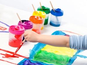 Использование красок