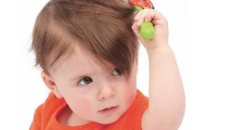 Плохой рост волос у ребенка
