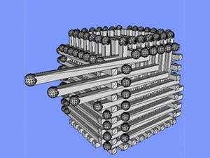 Башня спичечного танка