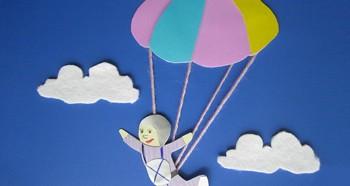 Бумажный парашют
