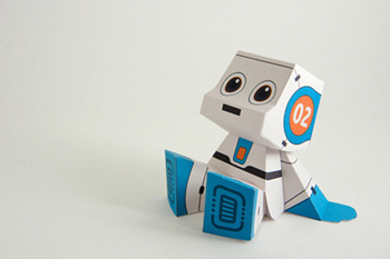 Бумажный робот