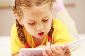 Чтение детских стихов