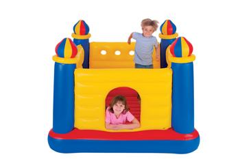 Детский надувной батут Замок