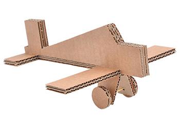 Картонный самолетик
