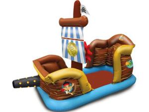Надувной батут Пиратский корабль