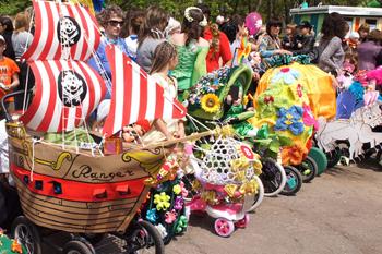 Парад колясок в Находке