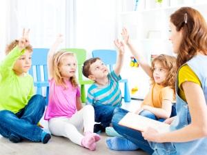 Чтение сказок в детском саду