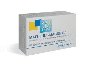 Снотворное Магне В6