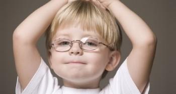 Проблема со зрением у дошкольников