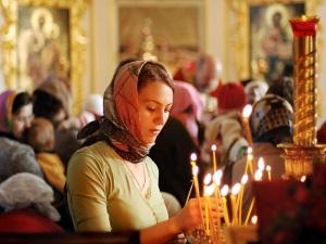 Молитва в церкви от глаза