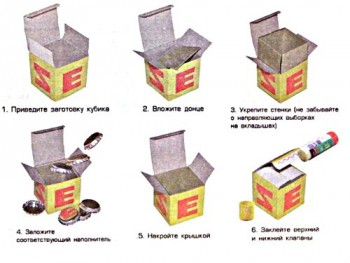 Инструкция по сборке кубиков Зайцева