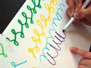 Упражнения для письма букв