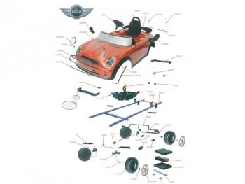 Пример устройства детского мини-купера