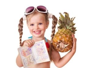 Загранпаспорт для самого ребенка
